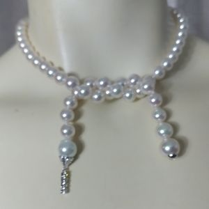 MAJORICA Sterling Silver & Pearls Necklace